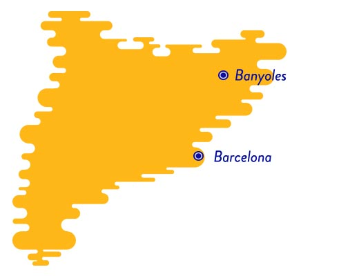 Banyoles map