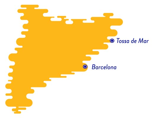 Tossa de Mar map